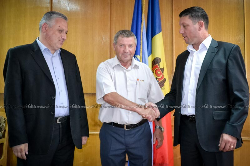 Un nou preşedinte pentru Drochia (Foto)