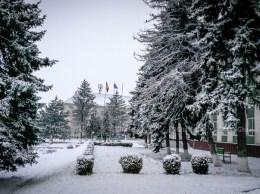Drochia, Iarnă, Zăpadă, Nins