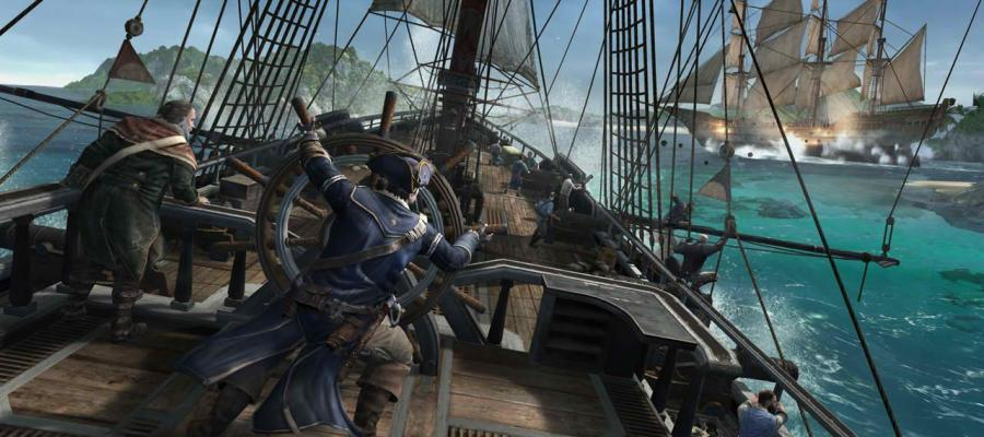 Assassin's Creed 3 Naval Battles