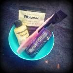 How I Dye My Fringe/Bangs Purple…