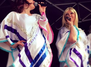 Vision Abba Tribute Agnetha and Frida