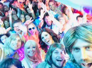 Vision ABBA Tribute Selfie