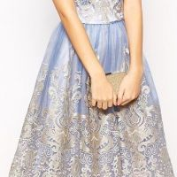 Fitted Evening Dresses in Embroidery collection - Womenitems.Com