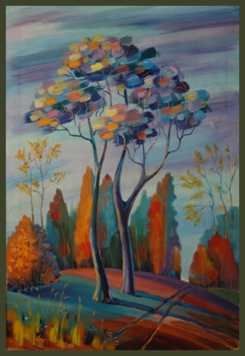 «Осень» - холст, масло, 52х35