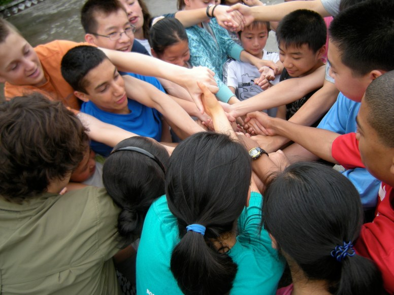 The human knot