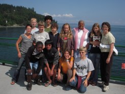 GSL Middle School Group at Makah