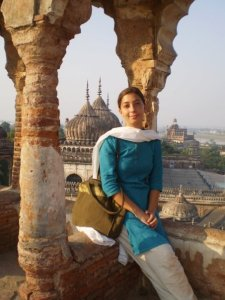 "Atop the Bhoolbhulaiya or Labarynth (The direct Urdu translation is ""the thing that makes you forget"") in Lucknow, India"