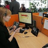 Video sign language interpretation service (Photo credit: socmin.lt)