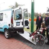 Accessible taxi (Photo credit: Municipalidad de San Borja)