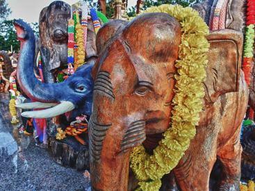 Brahma Shrine | Laem Phrom Thep