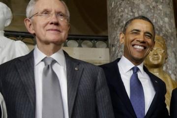 Barack Obama, Harry Reid