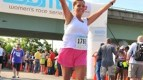 Kristen runs to raise awareness for Homocystinuria and other rare diseases.