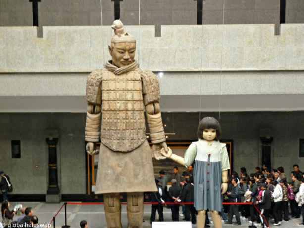 terracotta army how to get tehre