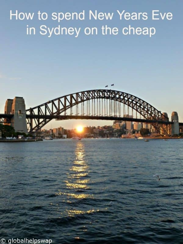 New Years Eve in Sydney on the cheap