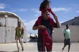 Malta Refugee detention center