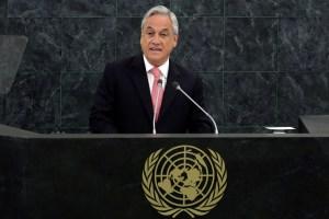 New York  Sebastián Piñera Echeñique