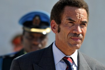 BOTSWANA PRESIDENT VISITS CUBA