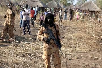 Rebel soldiers surrender in South Sudan