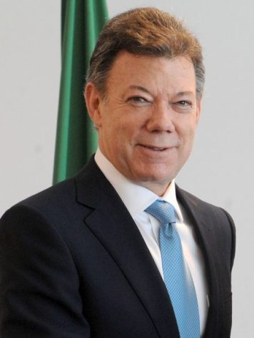 Colombian President Juan Manuel Santos, who oversaw the peace negotiations with the FARC. (Source: Wikimedia)