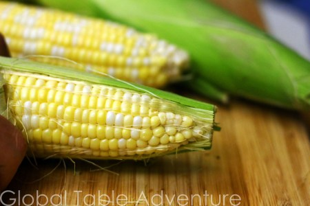Grilled Corn with Coconut Milk | Global Table Adventure
