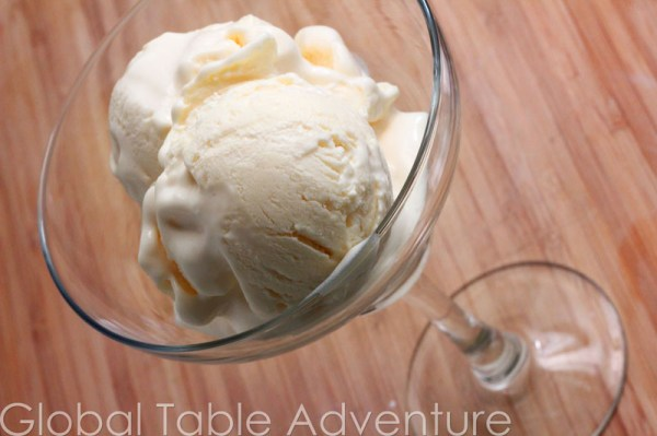 Chilean Lemon Ice Cream | Chilean Crema de Limon | Global Table ...