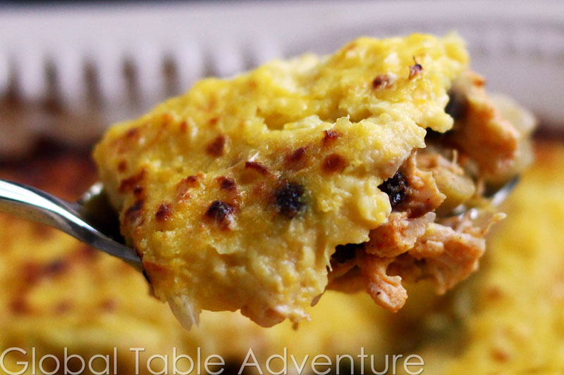 South American Chicken Casserole | Pastel del Choclo | Global Table ...