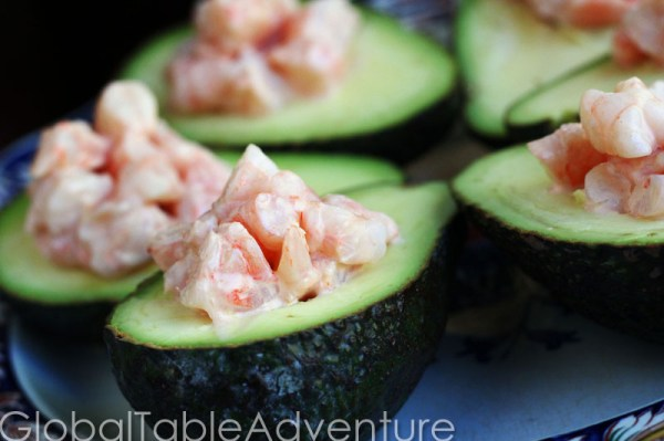 West African Shrimp In Avocado Boats Recipes — Dishmaps