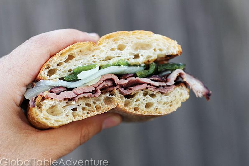 Hickory Smoked Flank Steak Sandwiches | Coupé coupé ...