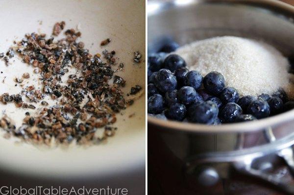 Blueberry Cardamom Ice Cream   Global Table Adventure