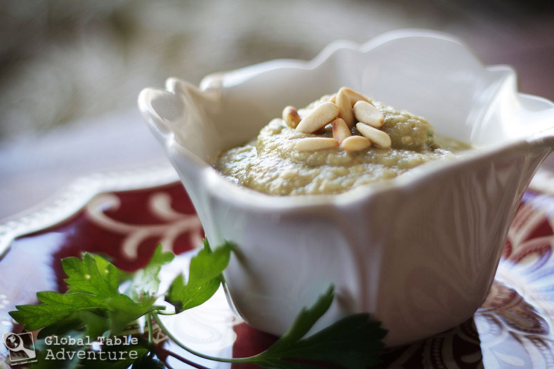 Baba Ghanoush with Roasted Garlic | Global Table Adventure