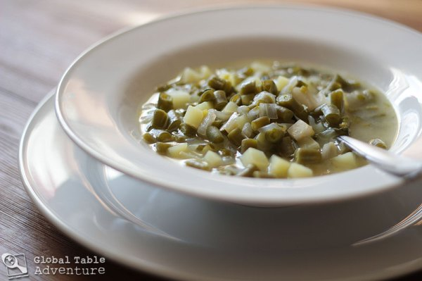 Green Bean Soup | Bouneschlupp | Global Table Adventure