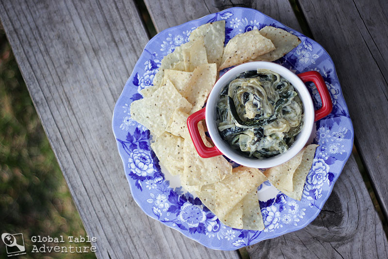 Cheesy Roasted Poblanos | Rajas con Crema | Global Table Adventure
