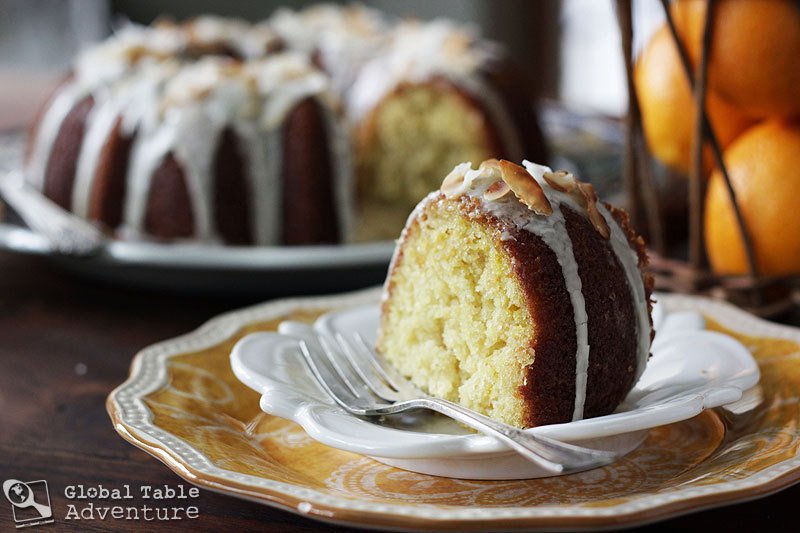 Glazed Orange Coconut Cake   Global Table Adventure