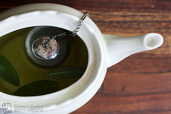 North African Sage n' Green Tea | Global Table Adventure