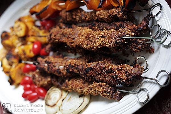 West African Peanut Kebabs | Suya | Global Table Adventure