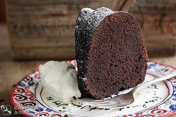 Midnight Mocha Rum Cake | Global Table Adventure