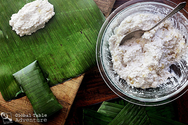 Tapioca Amp Banana Dumplings In Coconut Milk Saksak