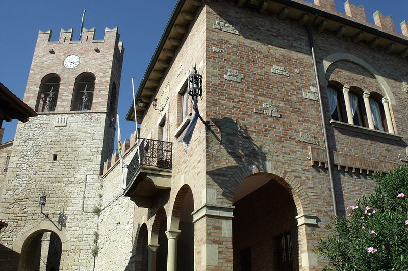 About the food of san marino global table adventure for Disegni casa castello
