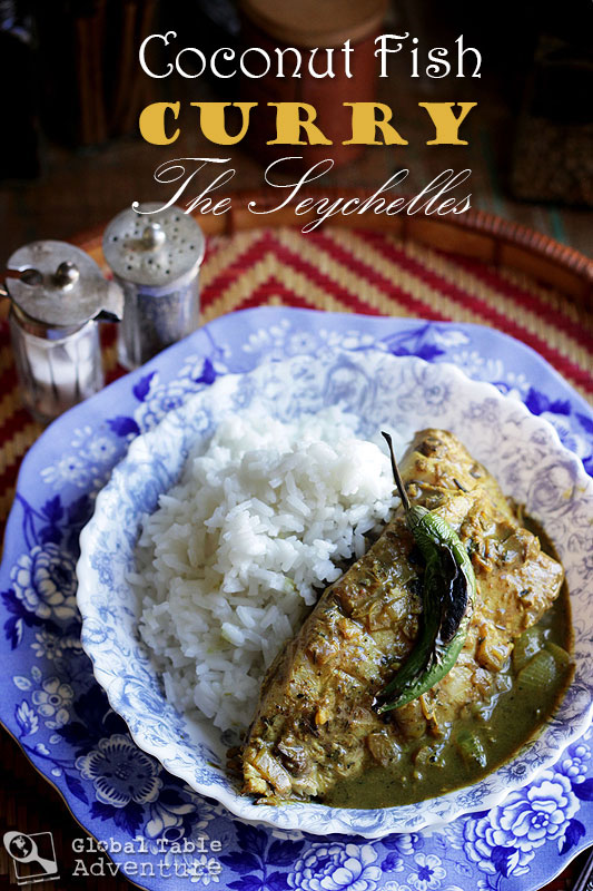 Coconut Fish Curry | Cari de Poisson | Global Table Adventure