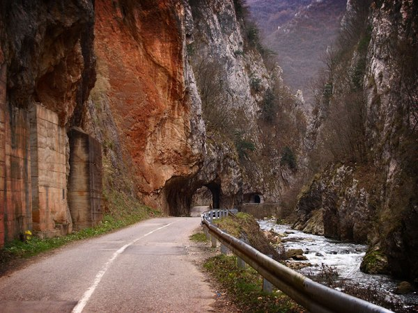 The Erma Gorge on Serbian Territory near Poganovo Monastery. Photo by Edal Anton Lefterov.