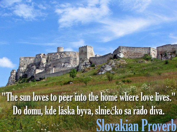 Slovakian Proverb plus dozens of other inspiring quotes from around the world.