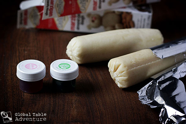 How to roll out marzipan