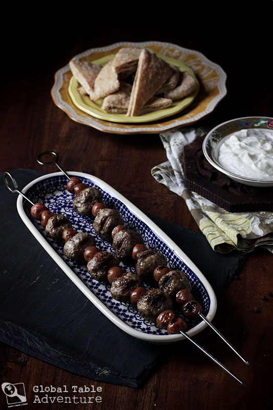 Syrian Lamb Kebabs with sour cherries | 21 of the World's best grilled eats.