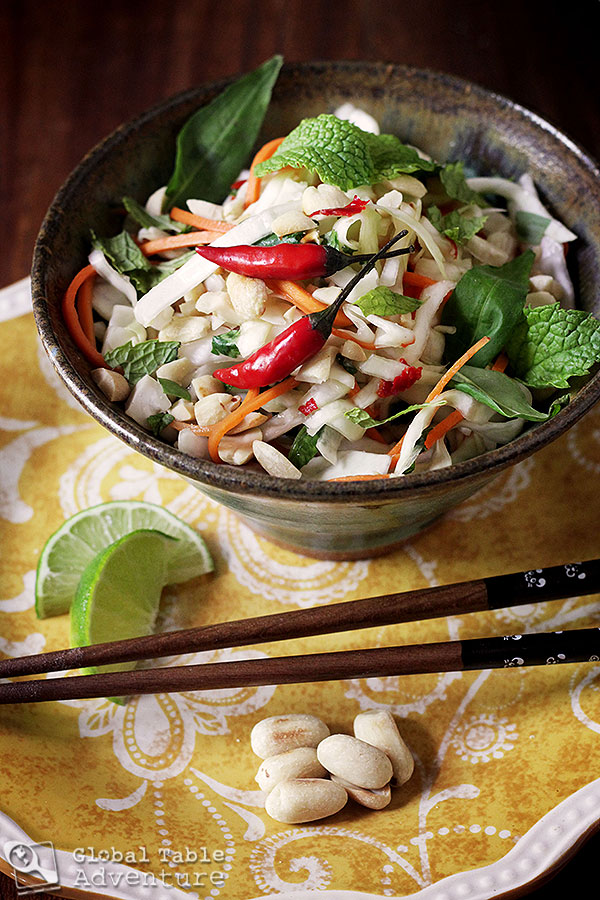 Spicy Vietnamese Slaw (with a lesson in Extreme Compassion)