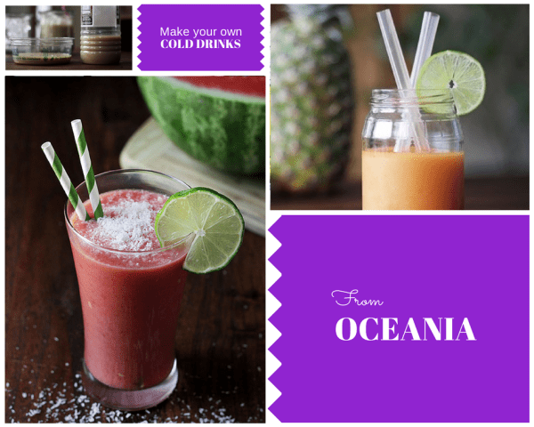 Cold drinks from Oceania