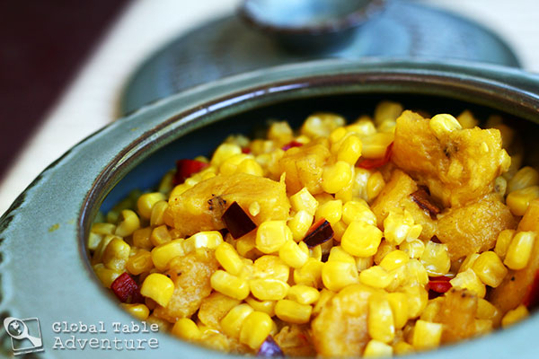 Corn with Plantains | Cameroon | Celebrate Corn season with 20 dishes from around the world