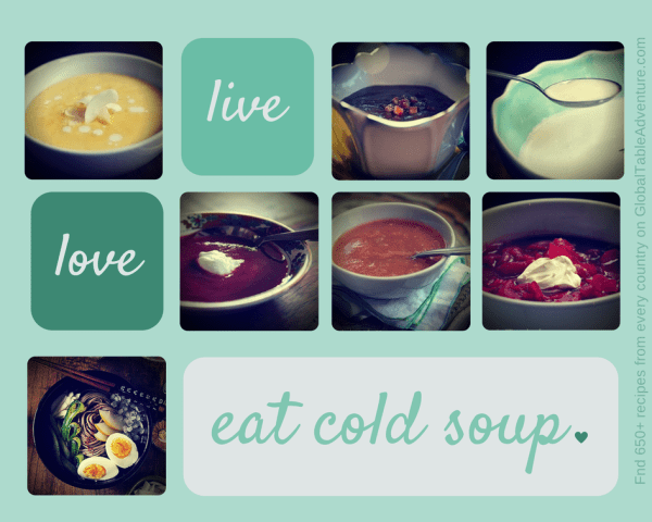 7 Cold soup recipes from around the world.
