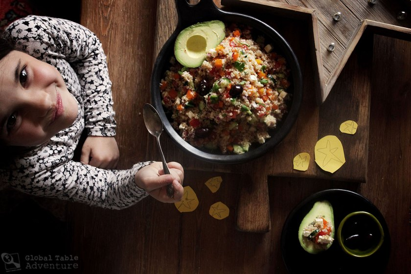 Recipe for Peruvian Quinoa Salad