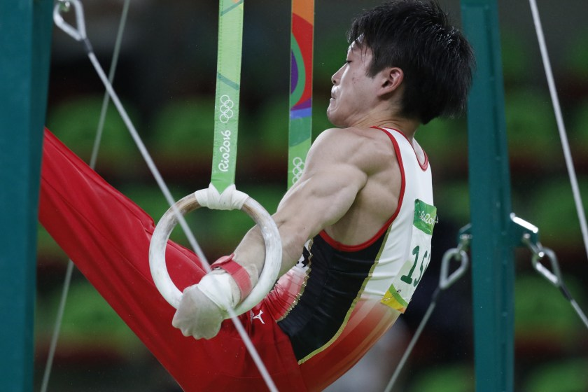 What if you could live off Victory? |Kōhei Uchimura of Japan, by Agência Brasil Fotografias.