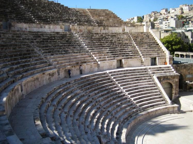 Giordiania: Anfiteatro Romano di Amman